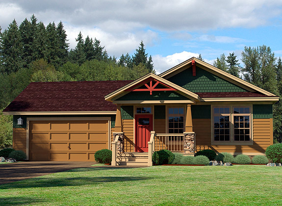 Best one story cottage floor plans home with open ranch for Piani di cottage modulari