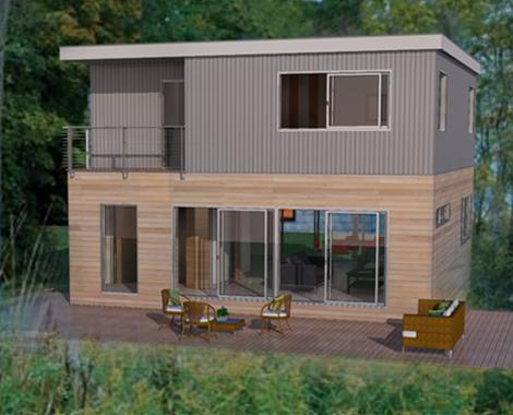 Me2 by jet prefab for Cost to build a house in indiana