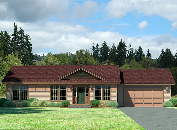 Ranch style manufactured homes california house design plans for One level modular homes