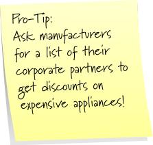 Modular appliances pro-tip