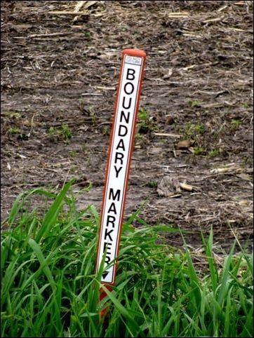 Property boundary marker