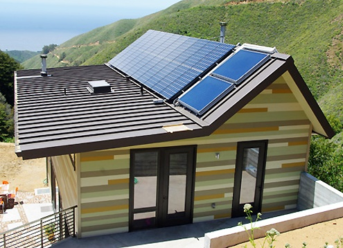 Green modular home