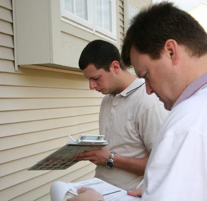 inspecting a modular home