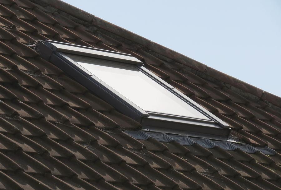 a skylight on a modular home