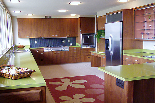 Home Decor Inspiration 1960s Kitchen