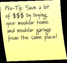 modular garage pro-tip