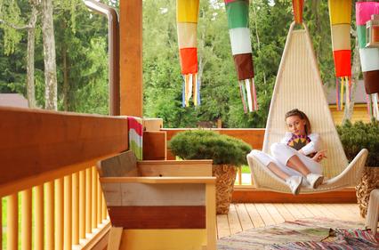 Modular Home porch