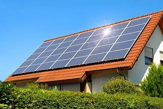 solar panel modular home