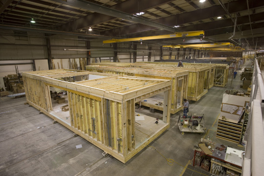 What is a modular home for Prefab framing