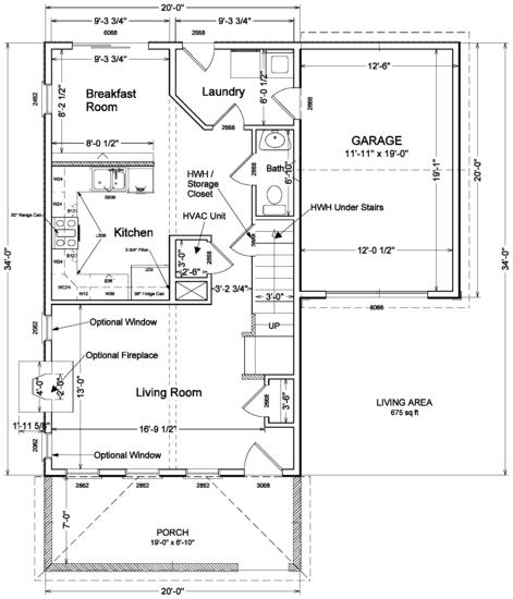 Modular house plans for Standard house designs